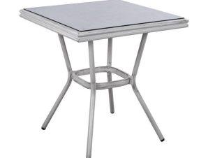 Τραπέζι 70X70 HM5568.01 White Πατίνα