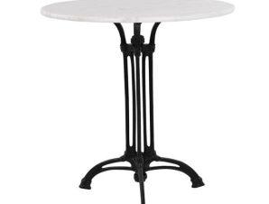 Τραπέζι Με 3Νυχη Βάση HM5609 Με Mάρμαρο Φ60