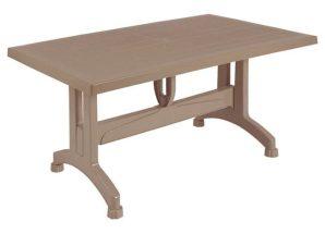 Τραπέζι 120X70X73.5Υεκ. Cappuccino HM5739.02