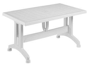 Τραπέζι 140X80X73.5Yεκ.White HM5738.01