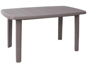 Τραπέζι Oval Sorrento Ε365,4 140x80x74cm Beige Tortora