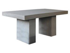 Τραπέζι Concrete Cement Grey Ε6201 160x90x75cm